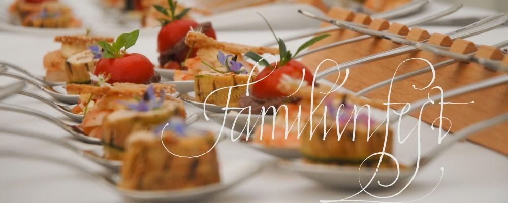 Familienfeste planen in Stuttgart, Heilbronn, Filderstadt und Umgebung
